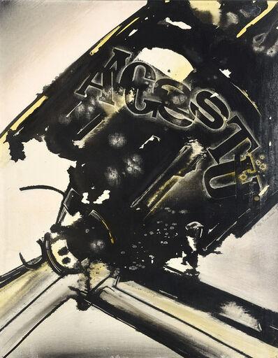 Gianni Bertini, 'Désir De Siléne', 1959