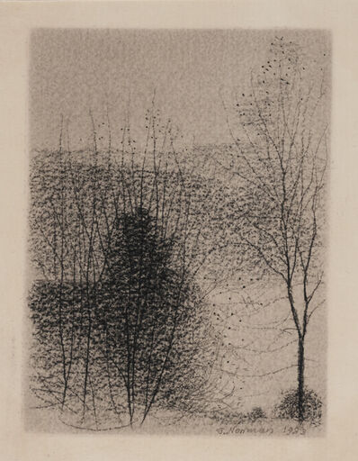 Gunnar Norrman, 'Skiss (Sketch)'