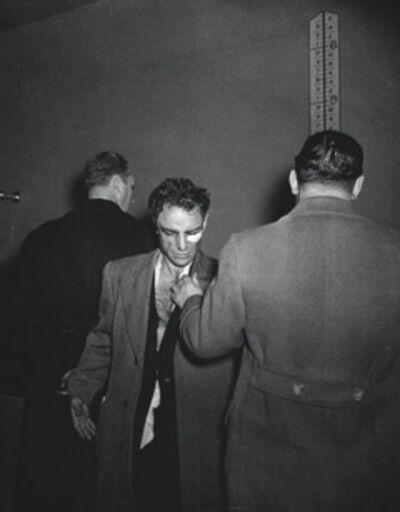 Weegee, 'Anthony Esposito, Accused 'Cop Killer'', ca. 1941