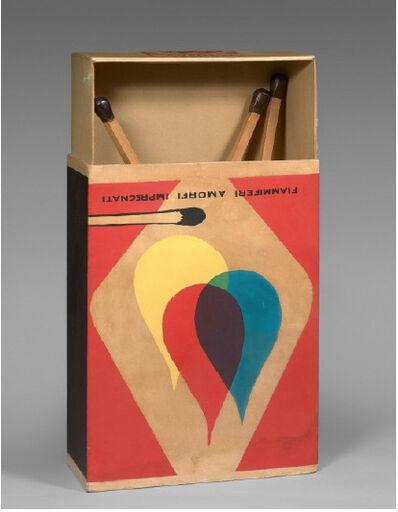 Raymond Hains, 'Saffa, Omaggio a Mondrian e a De Chirico', 1970