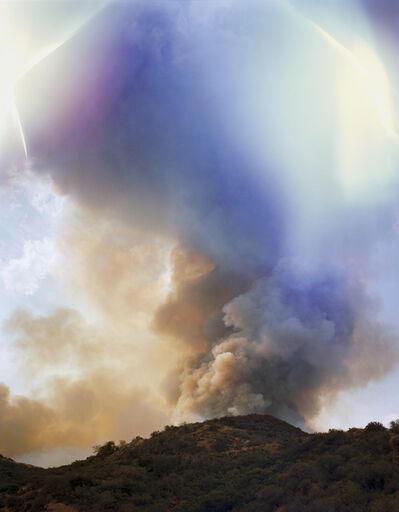 Kevin Cooley, 'La Tuna Fire takes Mount McGroarty', 2017