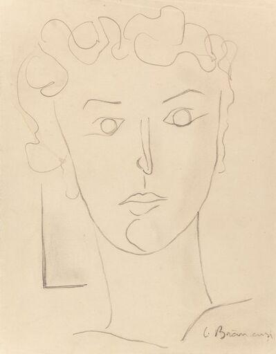 Constantin Brâncuși, 'Untitled (Portrait of Maria Tanase)', circa 1938-39
