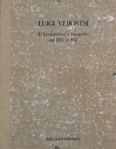 Luigi Veronesi, 'Folder of 10 photos', 1936/1947