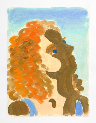 Lauren Collings, 'Italian Lady in Shadow', 2014