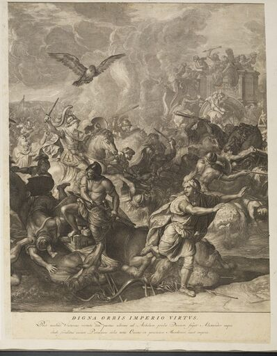 Charles Le Brun, '[Battle of Arbelles]', 1724