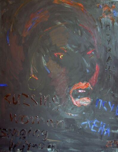 Svilen Stefanov, 'Cursing woman'