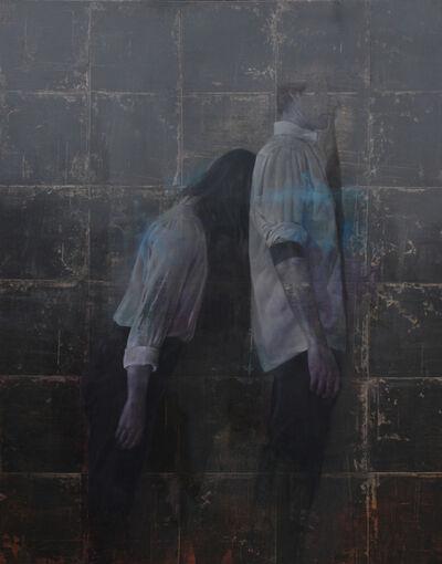 Johan Barrios, 'Trazado diagonal', 2017