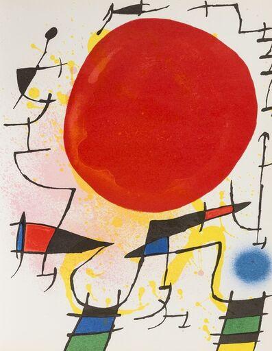 Joan Miró, 'Lithographe I-IV', 1972-1982