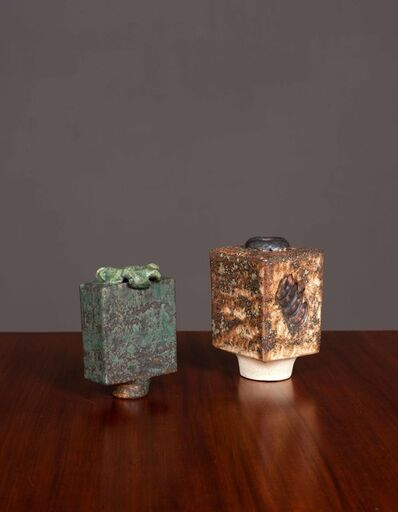 Lotte Maria Reimars, 'Pair of vases', vers 1970