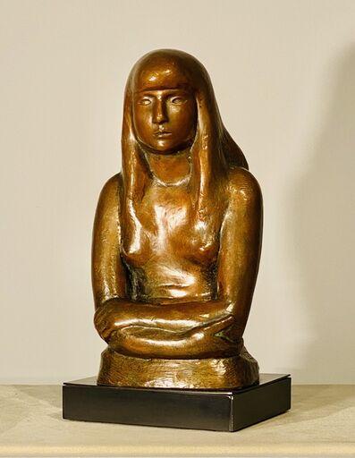 William Zorach, 'Artist's Daughter', ca. 1926