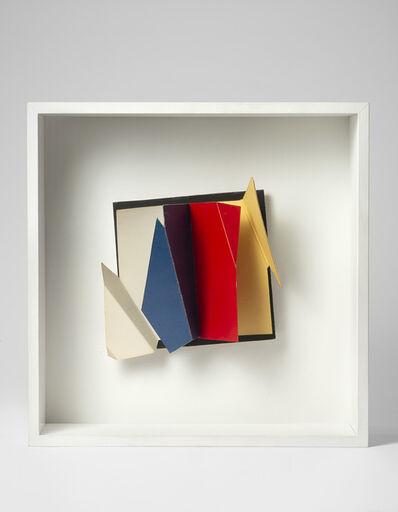 Grazia Varisco, 'Extra pagina quadricromia - B', 1980