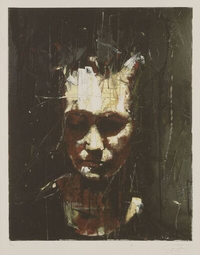 Guy Denning, 'Untitled (A Man Looking Down)', 2009