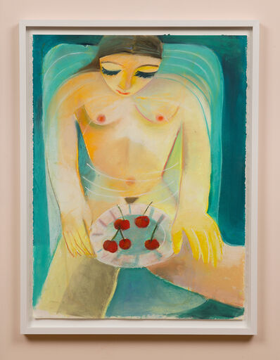 Danielle Orchard, 'Bath with Cherries', 2020