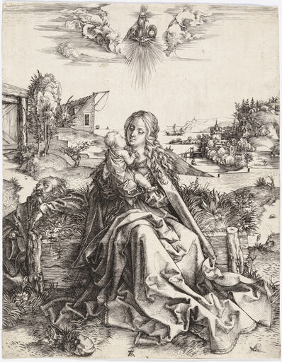 Albrecht Dürer, 'The Virgin With the Dragonfly', 1495