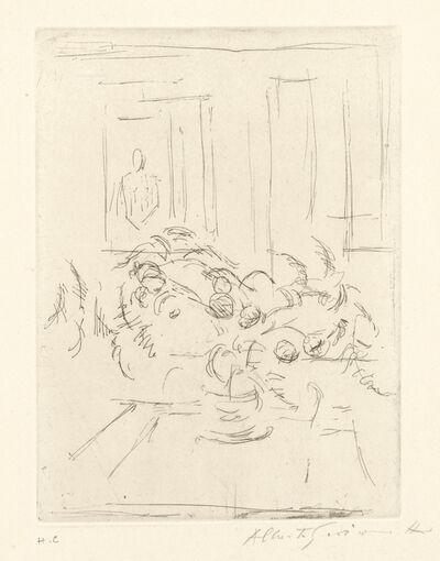 Alberto Giacometti, 'Bouquet I (Lust 59)', 1955