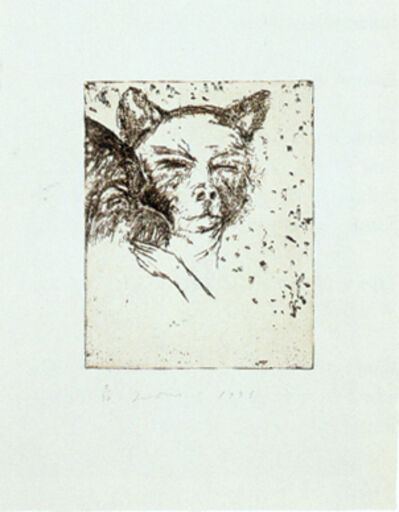 Jim Dine, '9 Studies for Winter Dream (Cat)', 1994