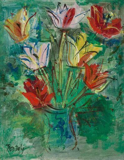 Jean Dufy, 'Bouquet de Tulipes'