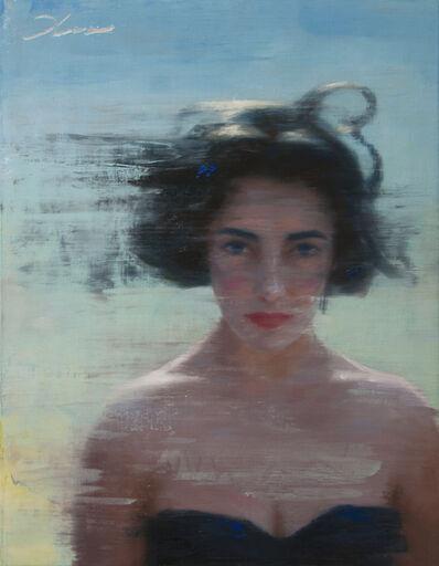 Vincent Xeus, 'Elizabeth in Tadema Sky', 2018