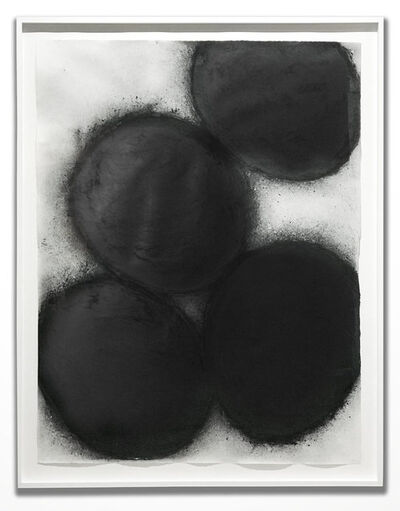 Donald Sultan, 'Black Eggs', 1998