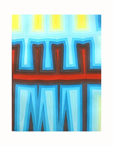 Tauba Auerbach, 'Fold Slice Topo I', 2011