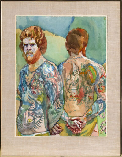 Henry Koerner, 'Pictured Man (Red Beard)', 1978