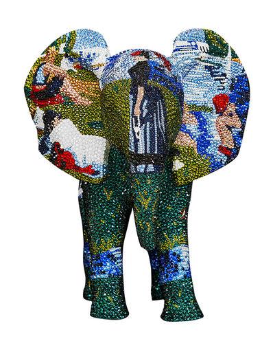 Metis Atash, 'Elephant Sunday's At The Park', 2021