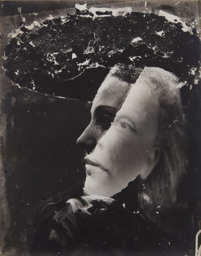 Dora Maar, 'Untitled (double-exposed portrait)', ca. 1936