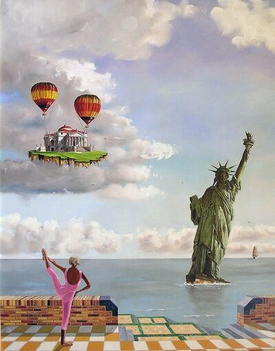 Jan van den Brink, 'Freedom is a bouncy castle'