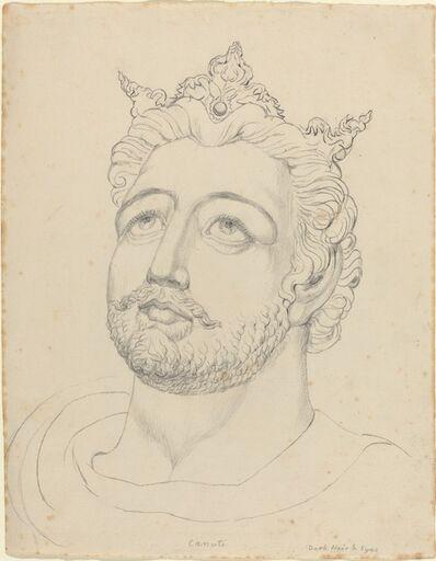 William Blake, 'King Canute', ca. 1819/1820