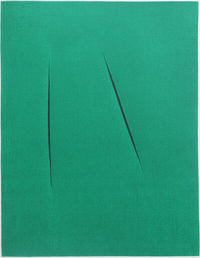 Lucio Fontana, 'Concetto Spaziale (from XXe siècle)', 1975