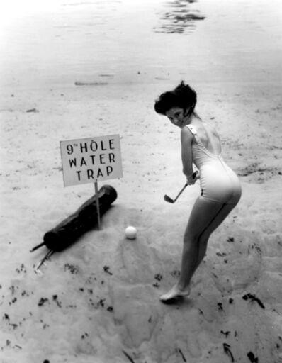 Bruce Mozert, 'Silver Springs Underwater (golf 9th hole)', 1940-1970
