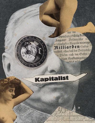 Erwin Blumenfeld, 'Kapitalist', 1923-1924