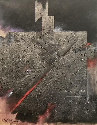 """Perez Celis, '""""Memoria de la piedra""""', 1980"""