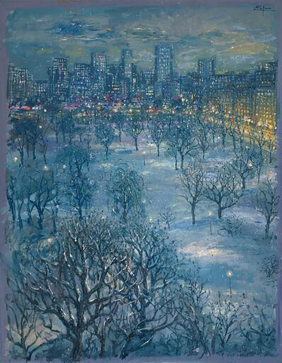 Bruno Zupan, 'Public Gardens in the Snow', 2019