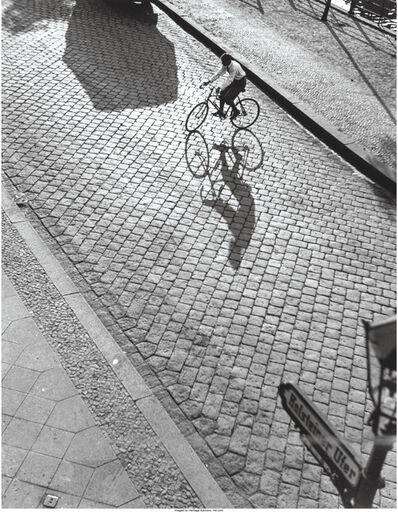 Alfred Eisenstaedt, 'Bicyclist, Holsteiner Ufer, Berlin', 1928