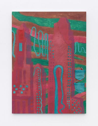Tyson Reeder, 'Skyscraper (Red)', 2017