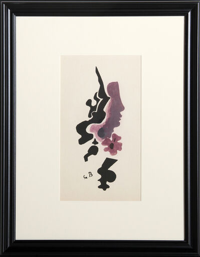 Georges Braque, 'Profile from the Espace Portfolio', 1957