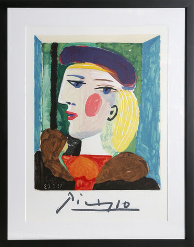 Pablo Picasso, 'Femme Profile (Marie-Therese Walter)', 1982