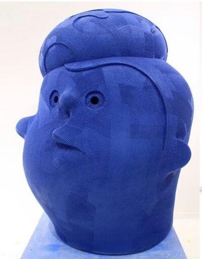 En Iwamura, 'Neo Jomon: Blue Hat', 2019