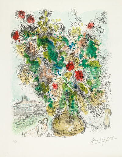 Marc Chagall, 'Roses et Mimosa (Roses and Mimosa)', 1975