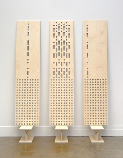 Colin Chase, 'story board concrete poem study in 3 movements A,B & C. ', 2014