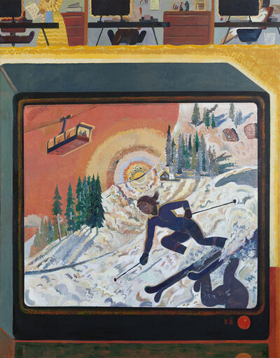 Aaron Zulpo, 'Ski Jackson Hole', 2019
