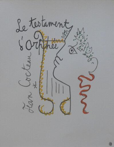 Jean Cocteau, 'Le Testament d'Orphée', ca. 1960