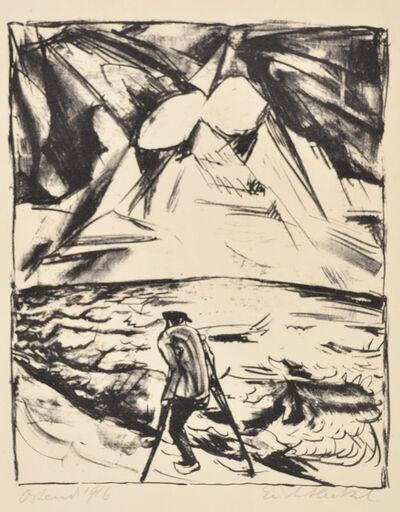Erich Heckel, 'Cripple by the Ocean', 1916