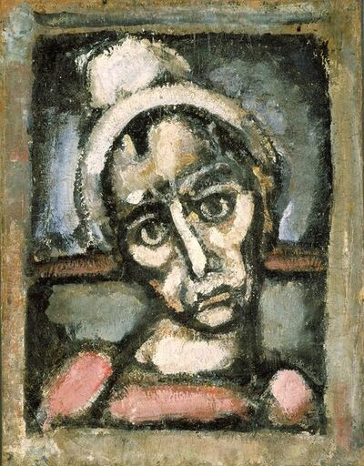 Georges Rouault, 'Head of A Clown', about 1920