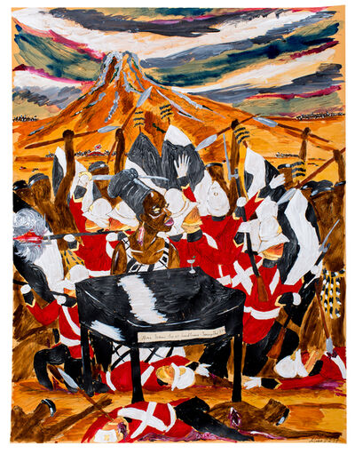 Andrew Gilbert, 'Nina Simone - live at Isandlwana, January, 22 1879', 2017