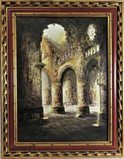 Fermín Santos Alcalde, ' Catedral de Toledo, Espana', ca. 1960
