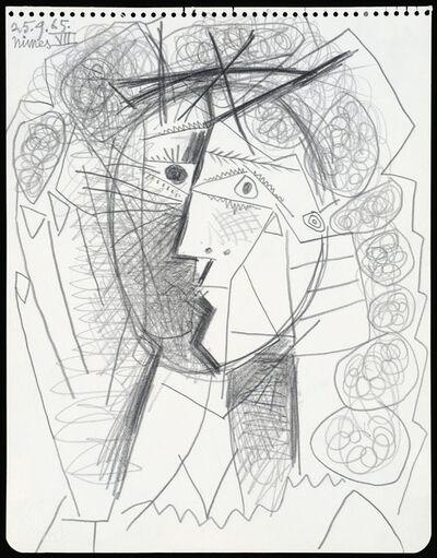 Pablo Picasso, 'Tête de Femme', 1965