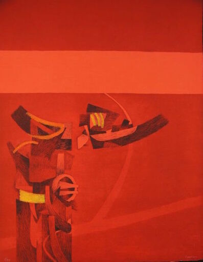 Fernando de Szyszlo, 'Untitled Set of Nine Etchings', 1978