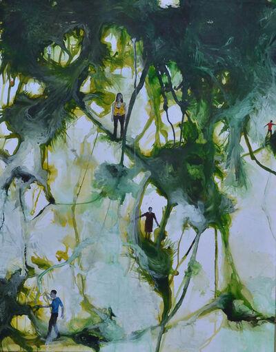 Eric Pina, 'Paysages, canopée citadine IV', 2014